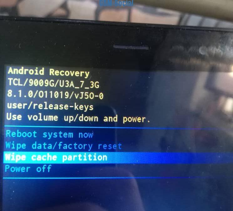ALCATEL 9009G FRP BYPASS GOOGLE ACCOUNT ANDROID 8.1.0